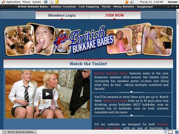 Britishbukkakebabes.com Logins Free