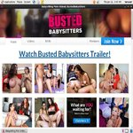 Free Password Bustedbabysitters.com