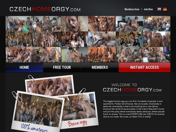 Free Working Czechhomeorgy.com Accounts