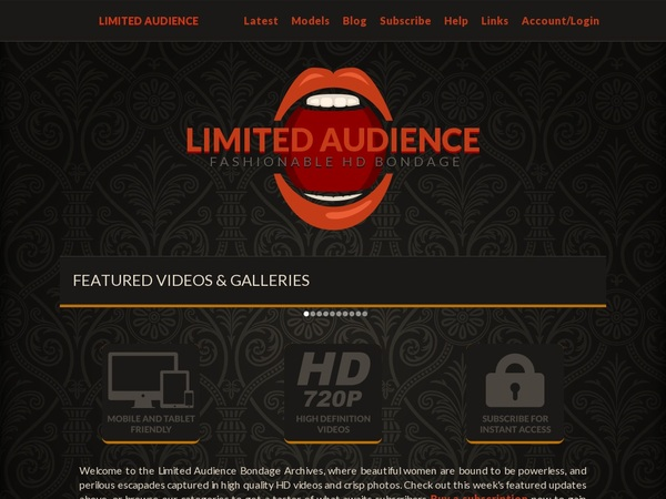 Get A Free Limited Audience Account
