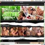 Green Card Cuties Debit Card