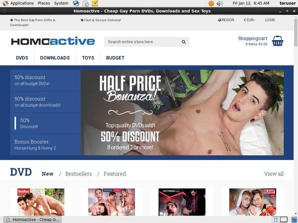 Homoactive Downloads Network