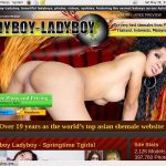 Ladyboy Ladyboy Creampie