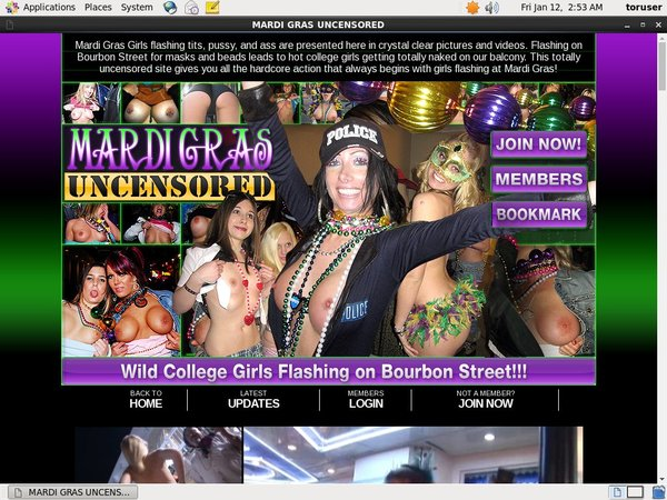 Mardi Gras Uncensored Renew Password