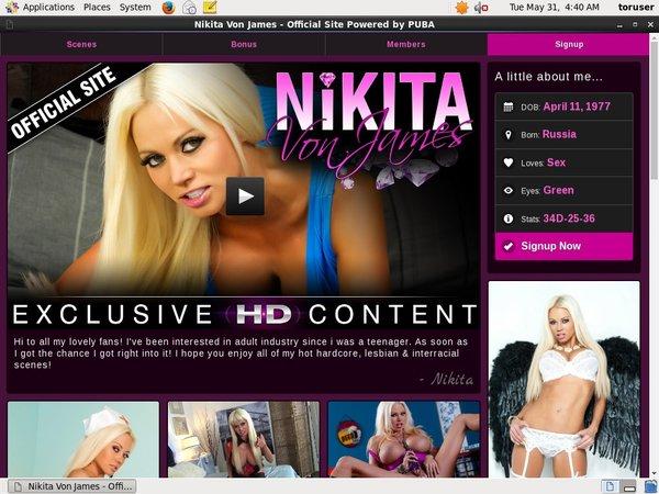 Nikitavonjames.com Websites