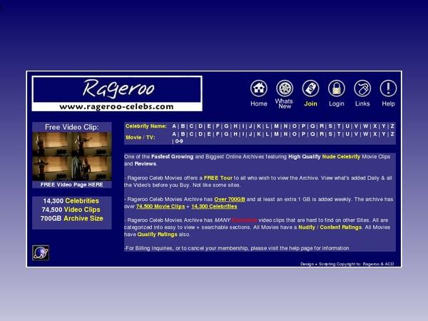 Rageroocelebs Get Account
