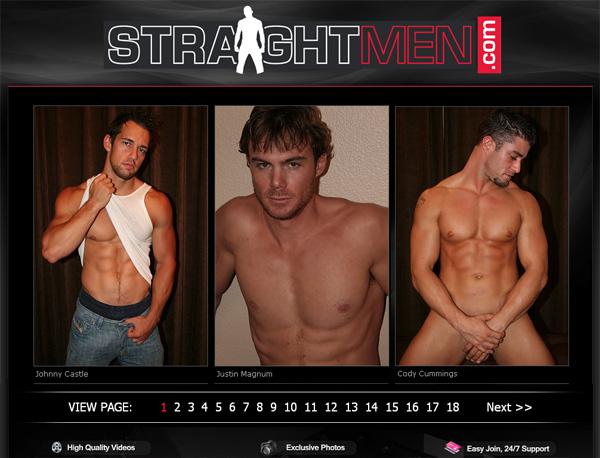 Straightmen.com Account