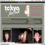 Tokyo Face Fuck Accounts Passwords
