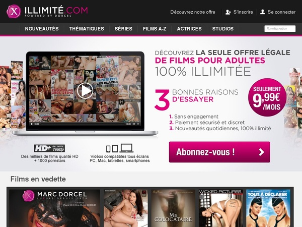 X Illimite Free Sign Up
