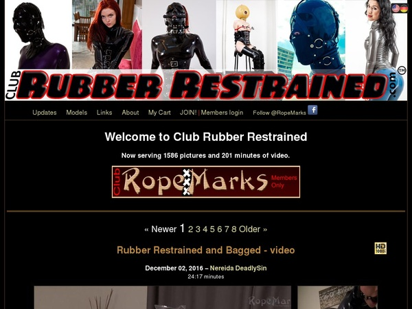 Free Users For Clubrubberrestrained.com