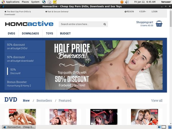 Homoactive Network