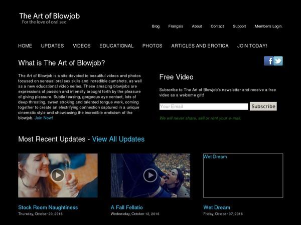 Theartofblowjob.com Clips For Sale