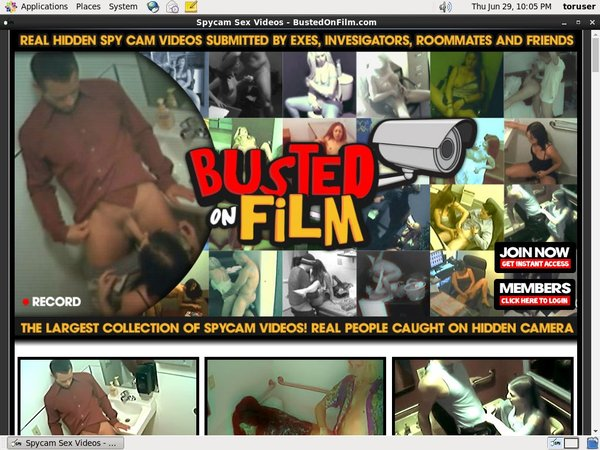 Bustedonfilm.com With IDeal