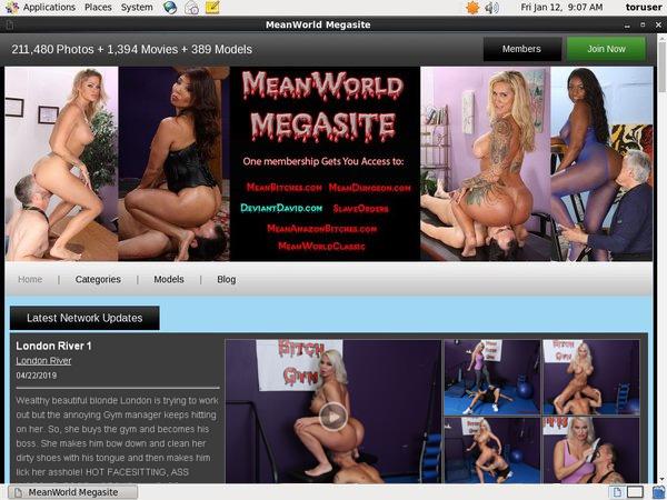 Meanworld.com Member Passwords