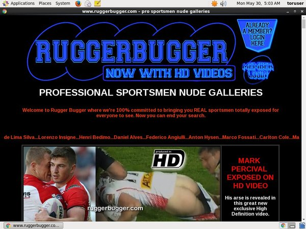 Free Accounts On Rugger Bugger
