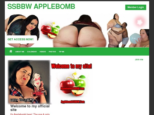 Daily SSBBW Applebomb Acc