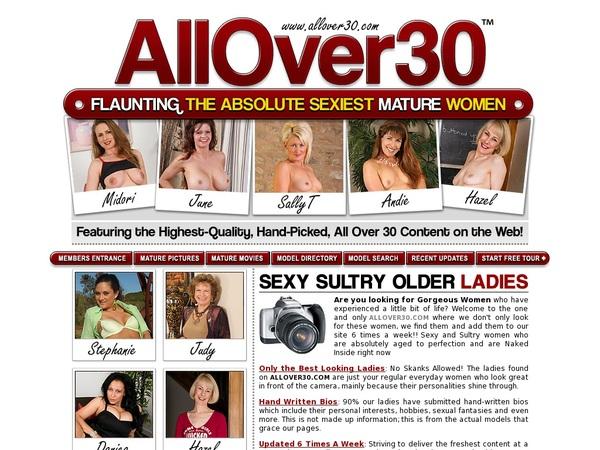 All Over 30 Original Dvd