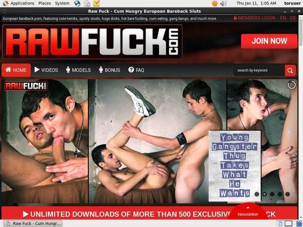 Rawfuck.com Premium Free Account