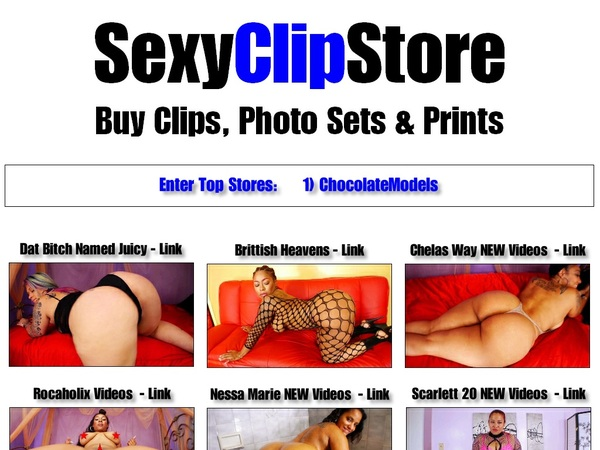 Sexy Clip Store Paypal Access