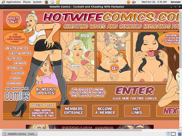 Hotwife Comics Sign Up Again