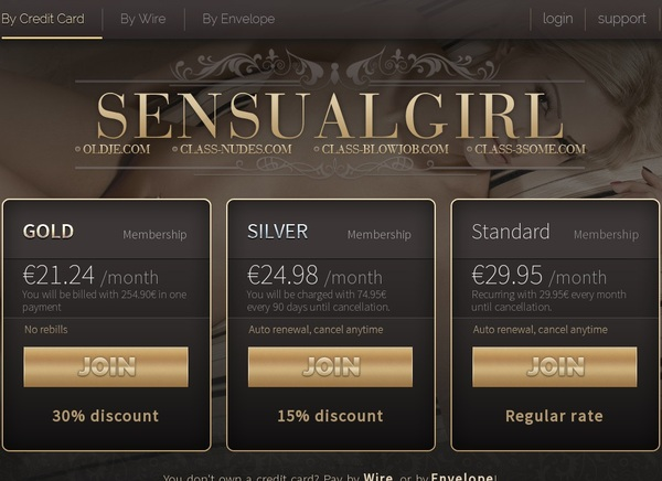 Sensual Girl Account And Passwords